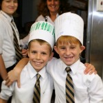 The 4th grade class at St. Gertrudes sold soup and were able to raise enough to send 2 kids to camp. 
